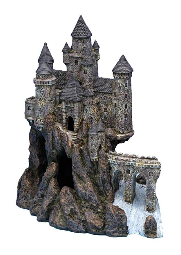 castle fish tank ornament